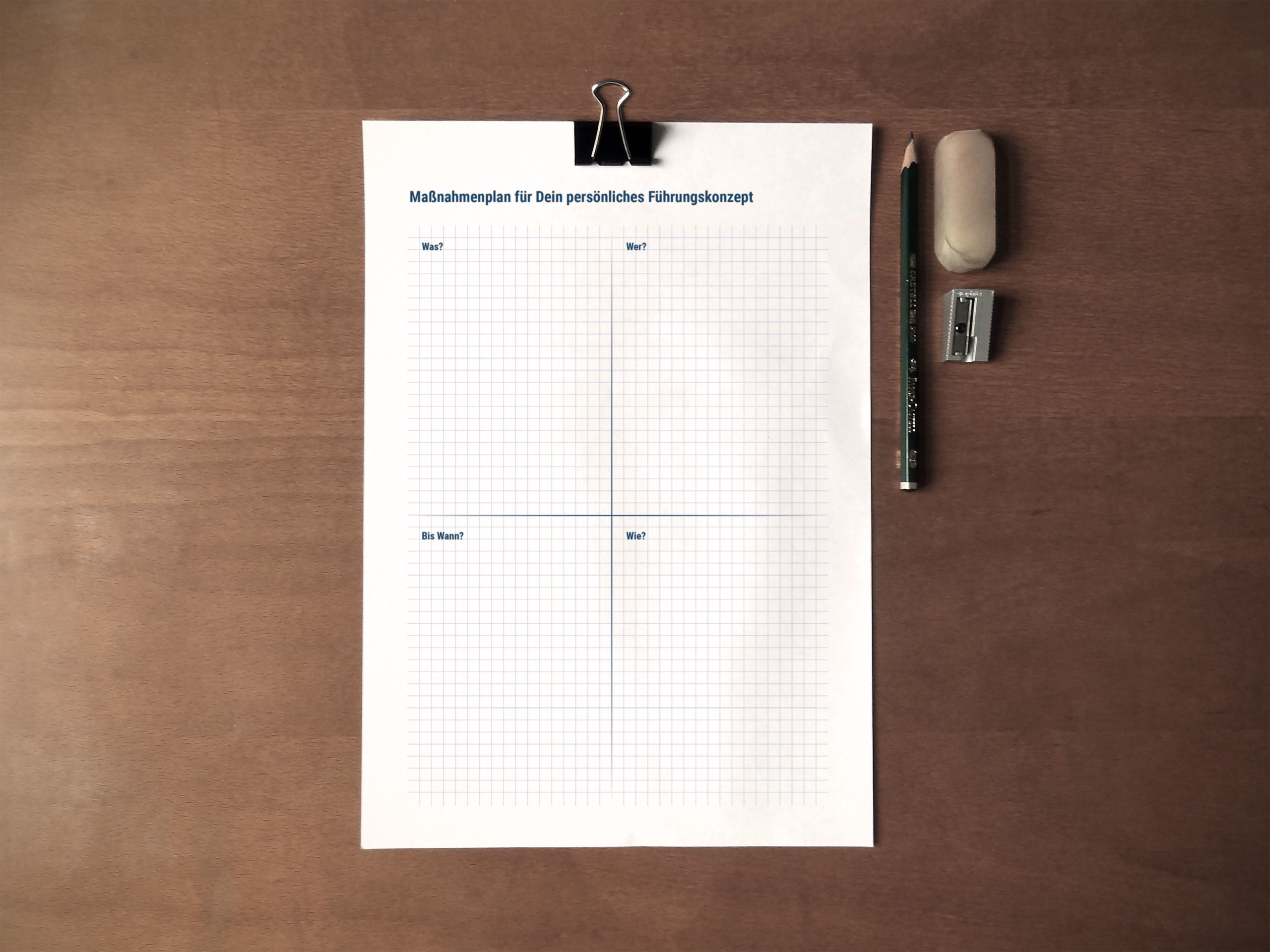 Maßnahmeplan